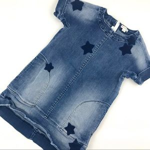 J. Crew Crewcuts Denim Star Dress